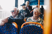 Photo: Stagecoach - people on a bus