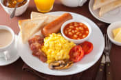 Photo of cooked breakfast